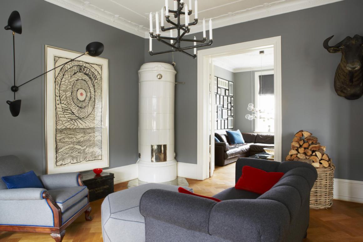 Trim Colour Series No 1 Oval Room Blue London Painters
