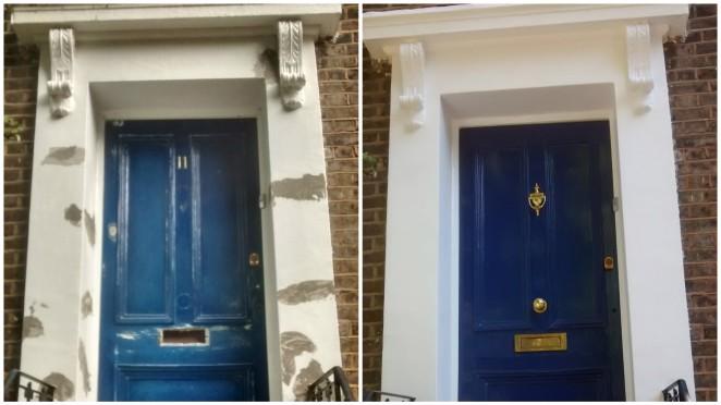 Trim Colour Series No 2 F B Drawing Room Blue London
