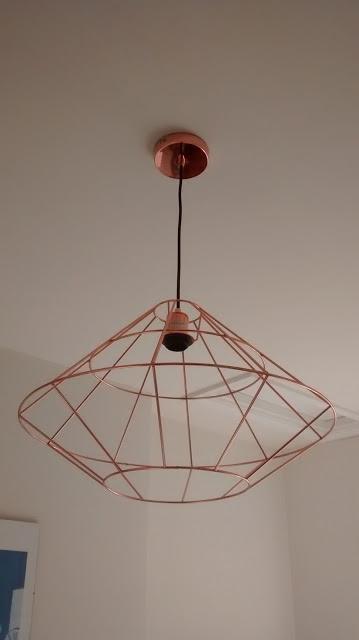 Attractive All Copper Light Fitting