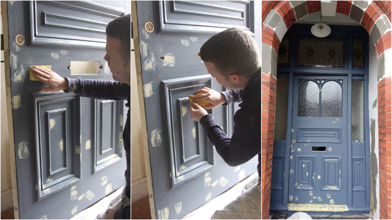 How We Paint A Front Door No 2 London Painters And