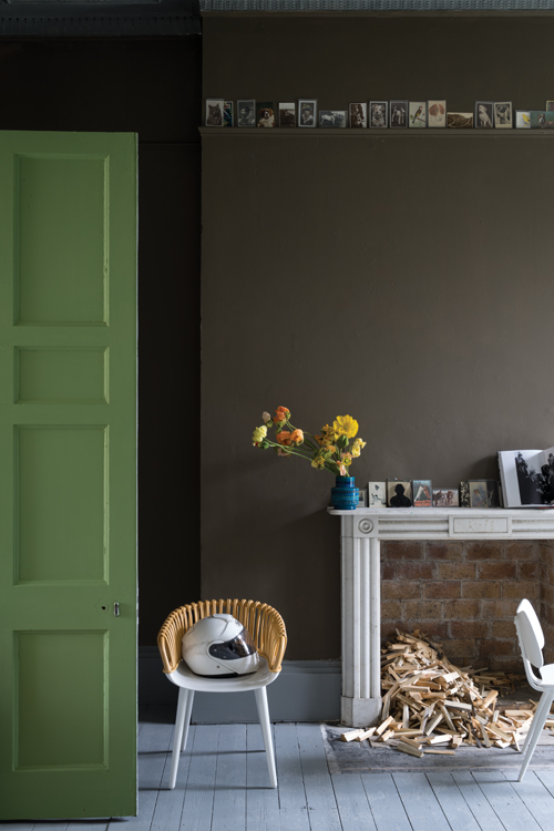 Salon Drab by Farrow & Ball