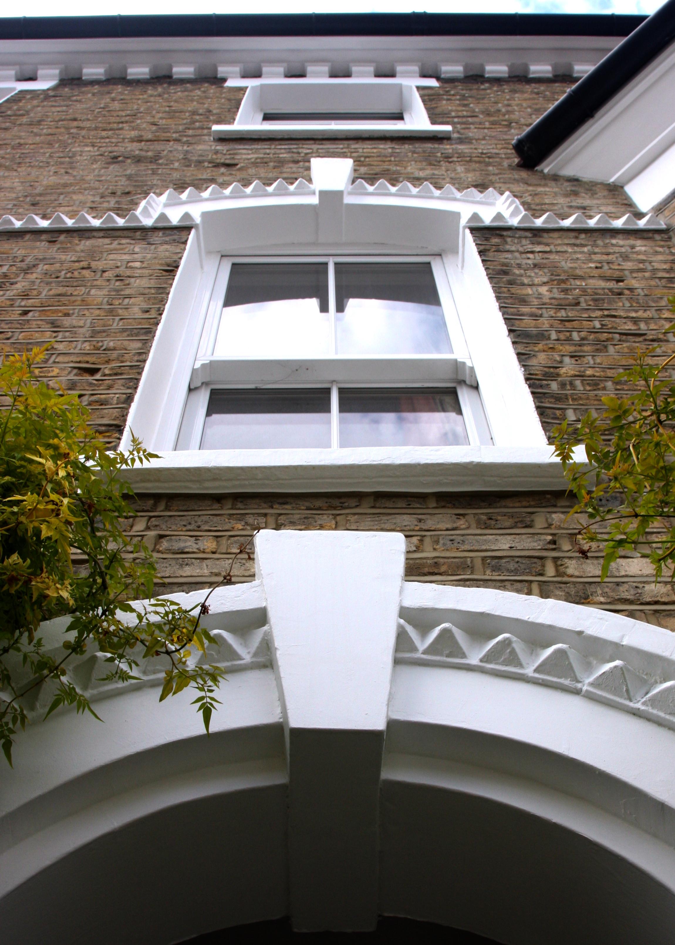 Brixton front door in Sikkens XD gloss